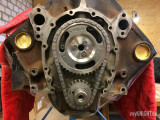 Montiere Steuerkette am Chevrolet Small Block